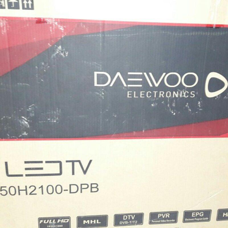 فروش تلویزیون 50 اینچ پنل شسکته دوو